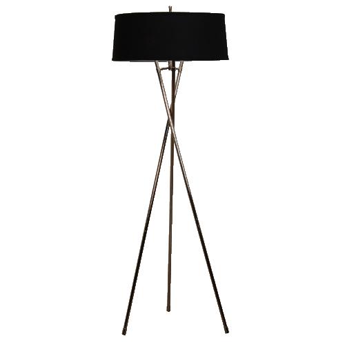 Metal tripod floor lamp mozeypictures Gallery